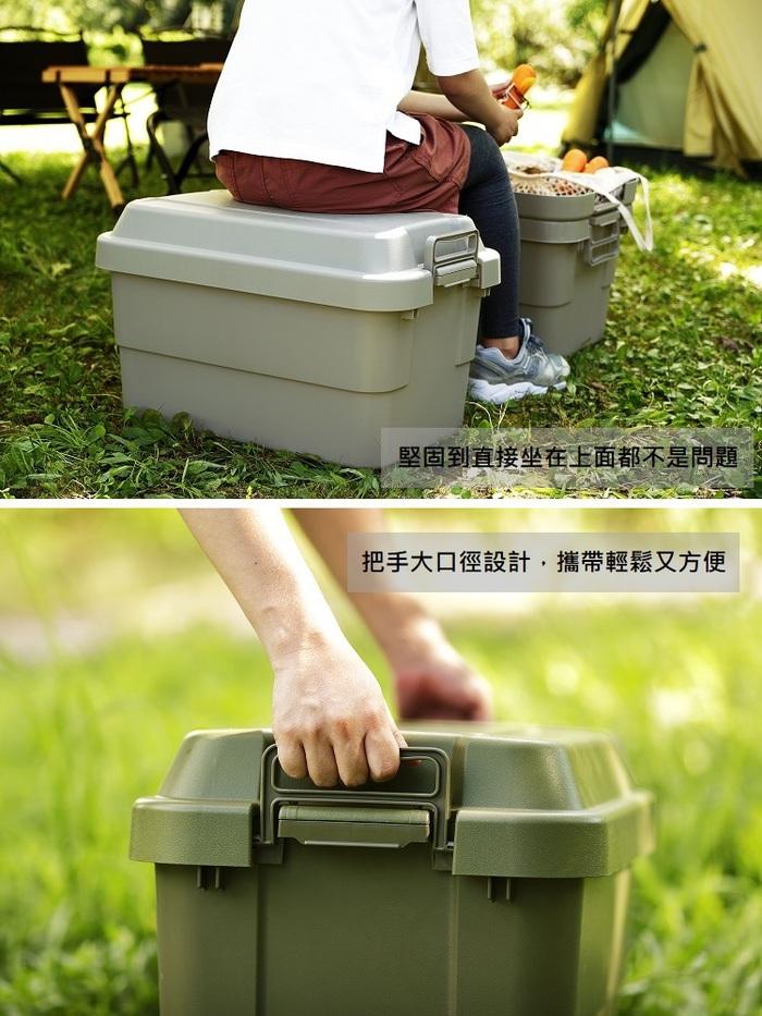 (複製)RISU| TRUNK CARGO 暖色系多功能環保耐重收納箱 70L - 二色