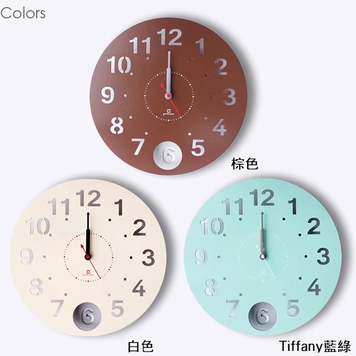 yamato japan Circle Clock 擺動式壁掛時鐘