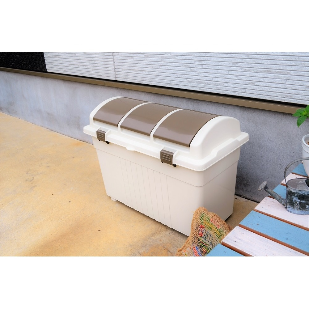 eco container style 日本 eco container style 三分類 環保多功能收納垃圾桶 - 100L