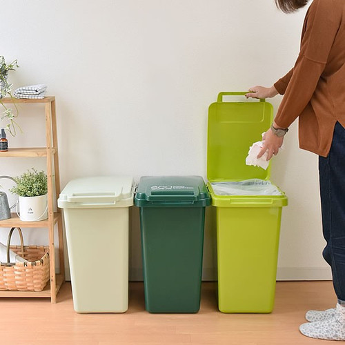 eco container style|連結式垃圾桶 森林系