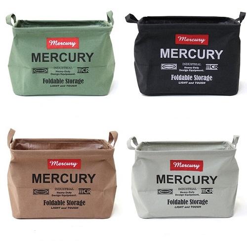 MERCURY|美式復古風格多功能防水收納袋-長方形 M