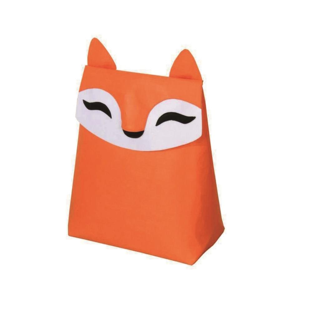 KOMPIS|北歐風可愛動物收納箱-狐狸