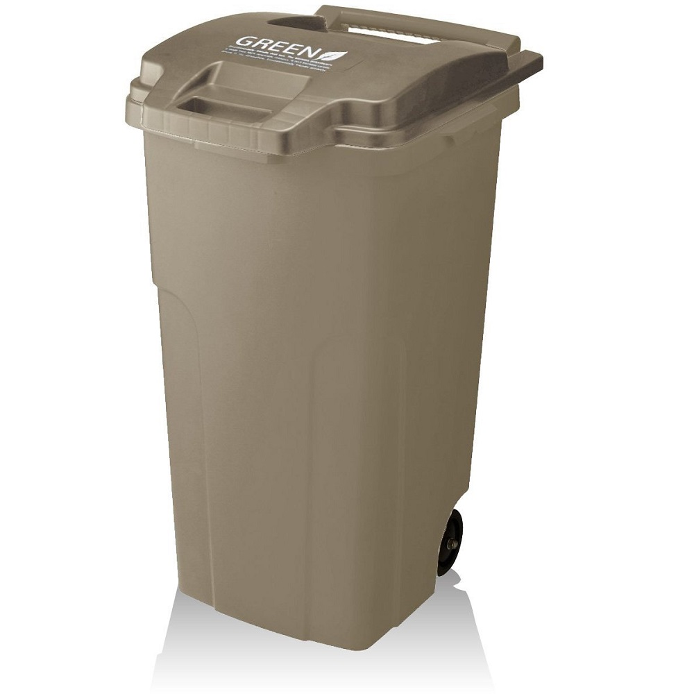 eco container style | GREEN機能型戶外拉桿式垃圾桶 90L