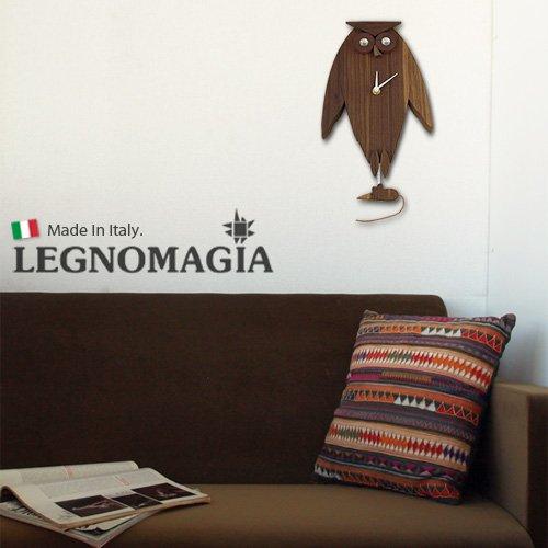 LEGNOMAGIA|貓頭鷹壁鐘
