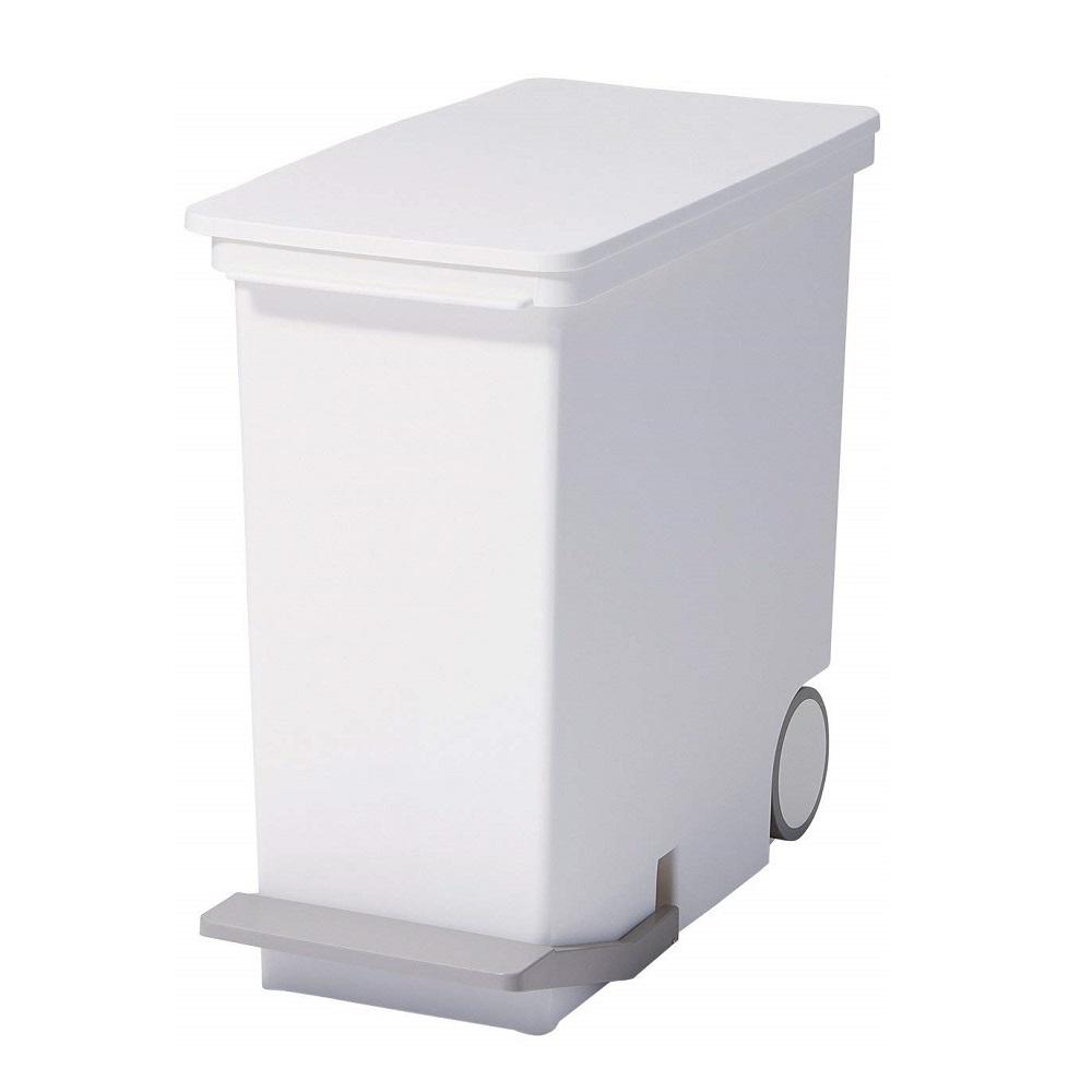 diese-diese|LIKE IT 直立式分類垃圾桶 25L - 純白色
