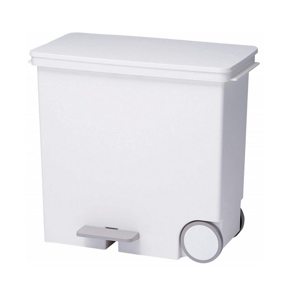 diese-diese LIKE IT 橫向式分類垃圾桶 25L - 純白色