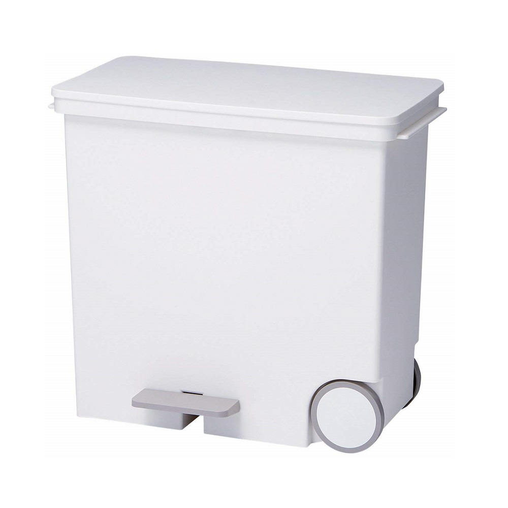 diese-diese|LIKE IT 橫向式分類垃圾桶 25L - 純白色