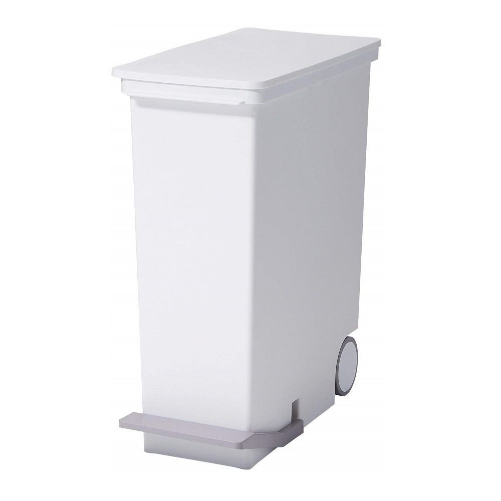 diese-diese|LIKE IT 直立式分類垃圾桶 33L - 純白色