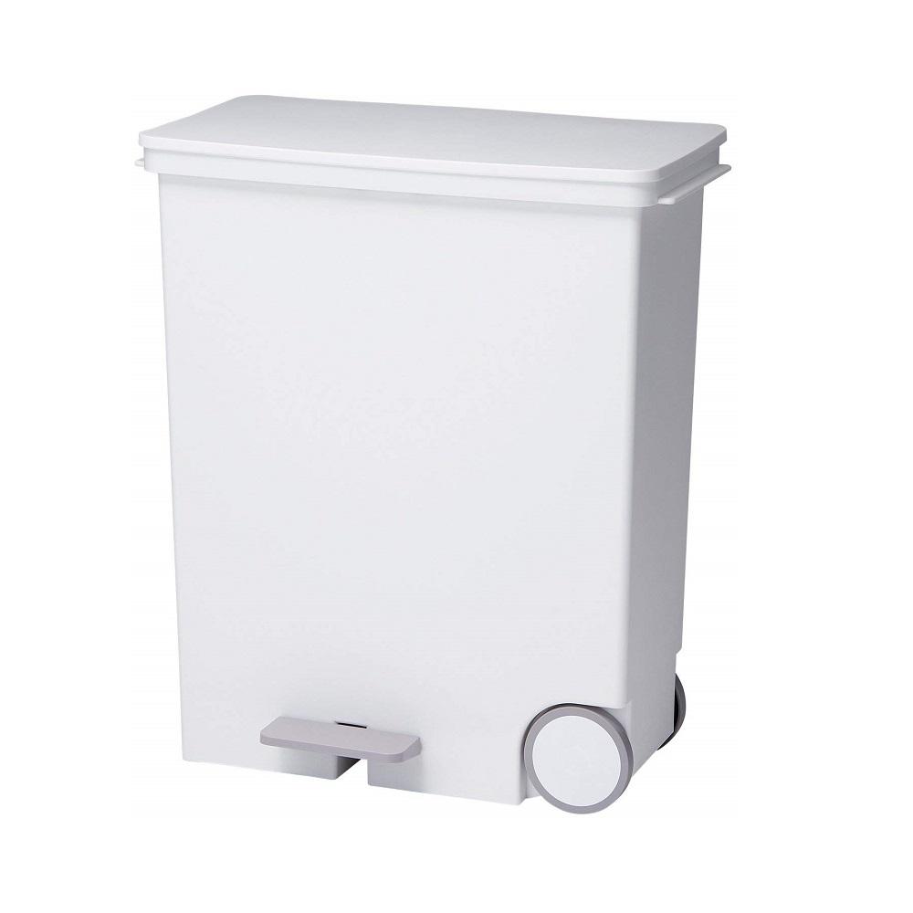 diese-diese|LIKE IT 橫向式分類垃圾桶 33L - 純白色