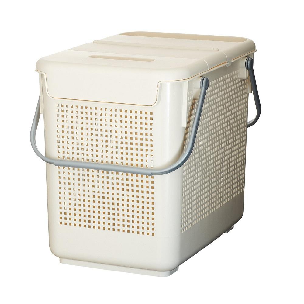 diese-diese|LIKE IT 可堆疊含蓋多功能收納洗衣籃