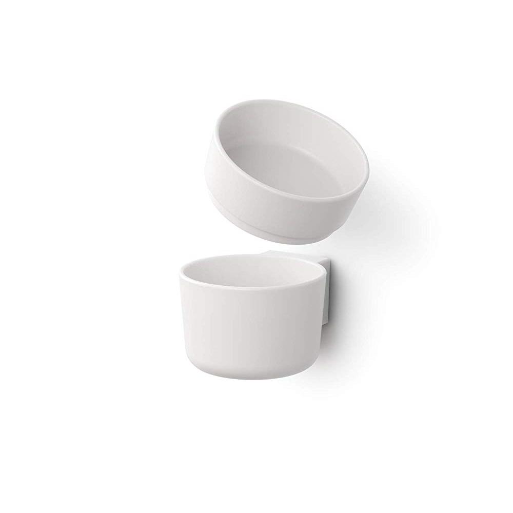 diese-diese|LIKE IT 牆壁裝飾雙層儲物收納杯(盒)