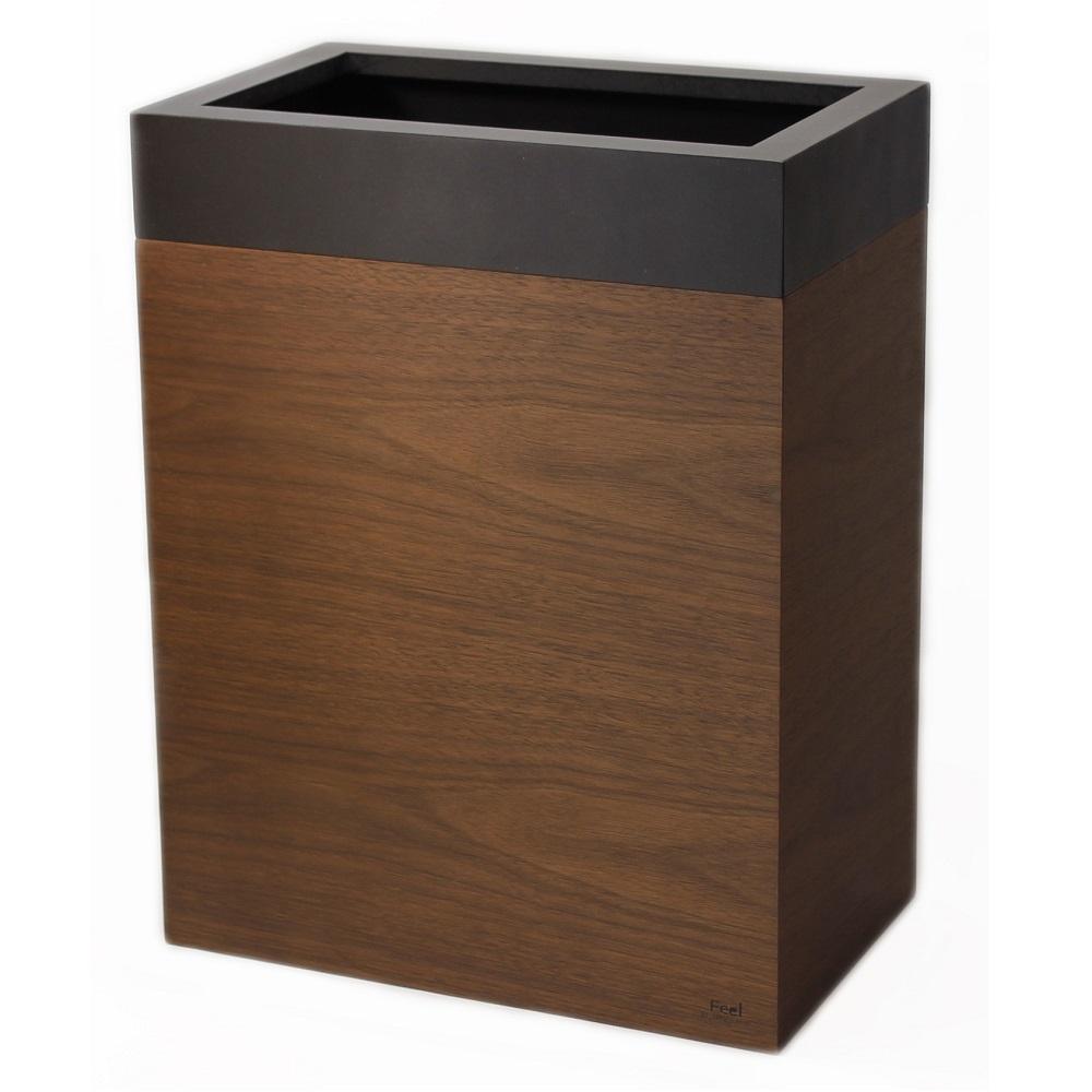 yamato japan|純手工木製摩登款小容量垃圾桶10L