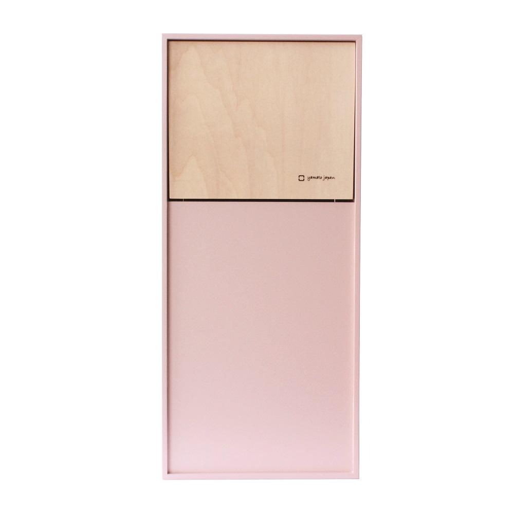 yamato japan DOORS mini 純手工木製前開式迷你型垃圾桶 8L