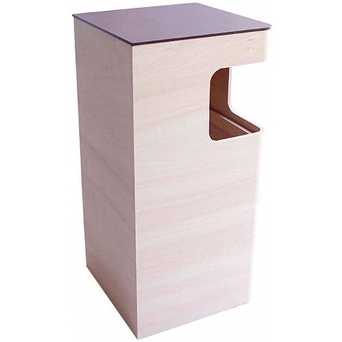 yamato japan|純手工木製角落式垃圾桶 12L