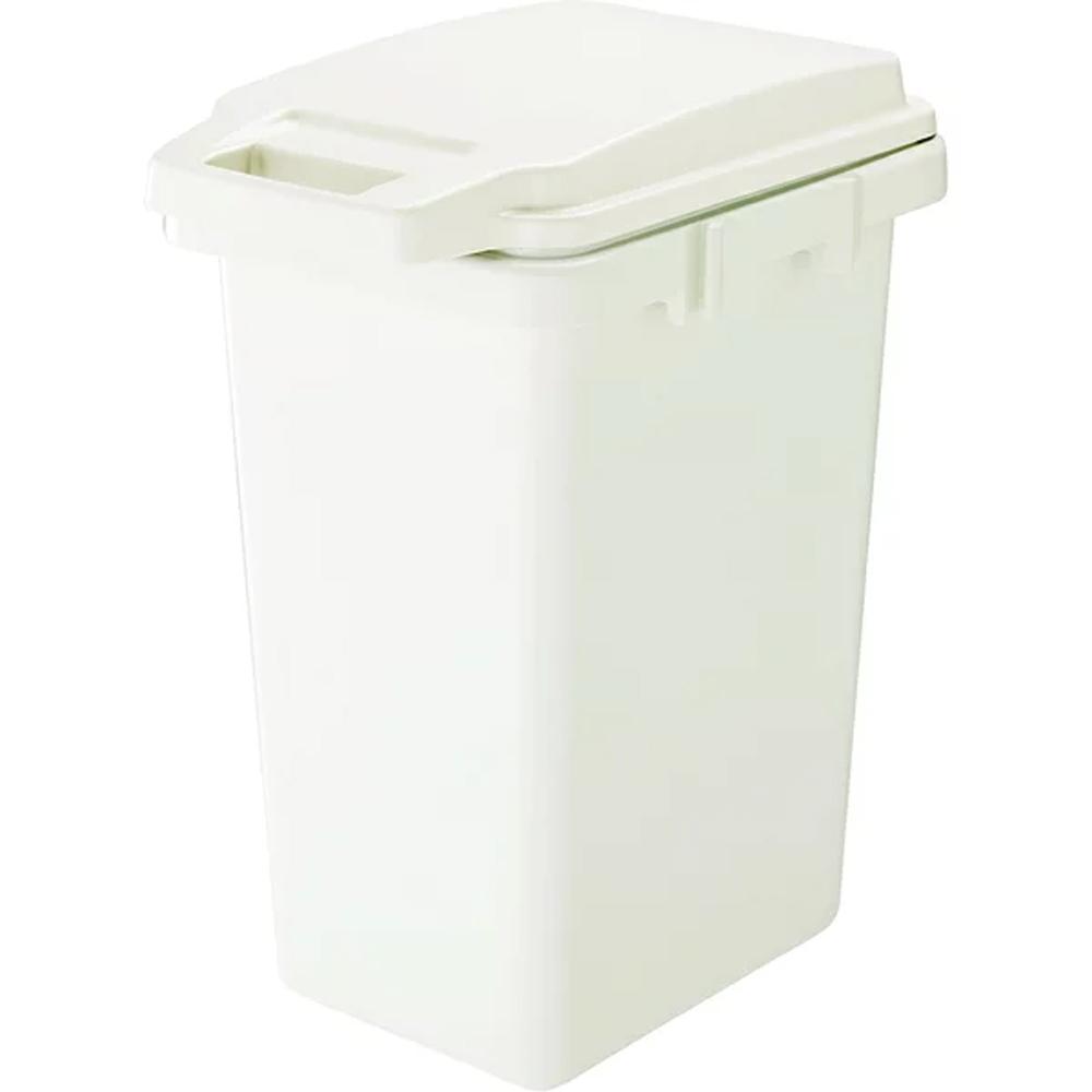 日本Risu|掀蓋式抗菌防臭連結垃圾桶45L