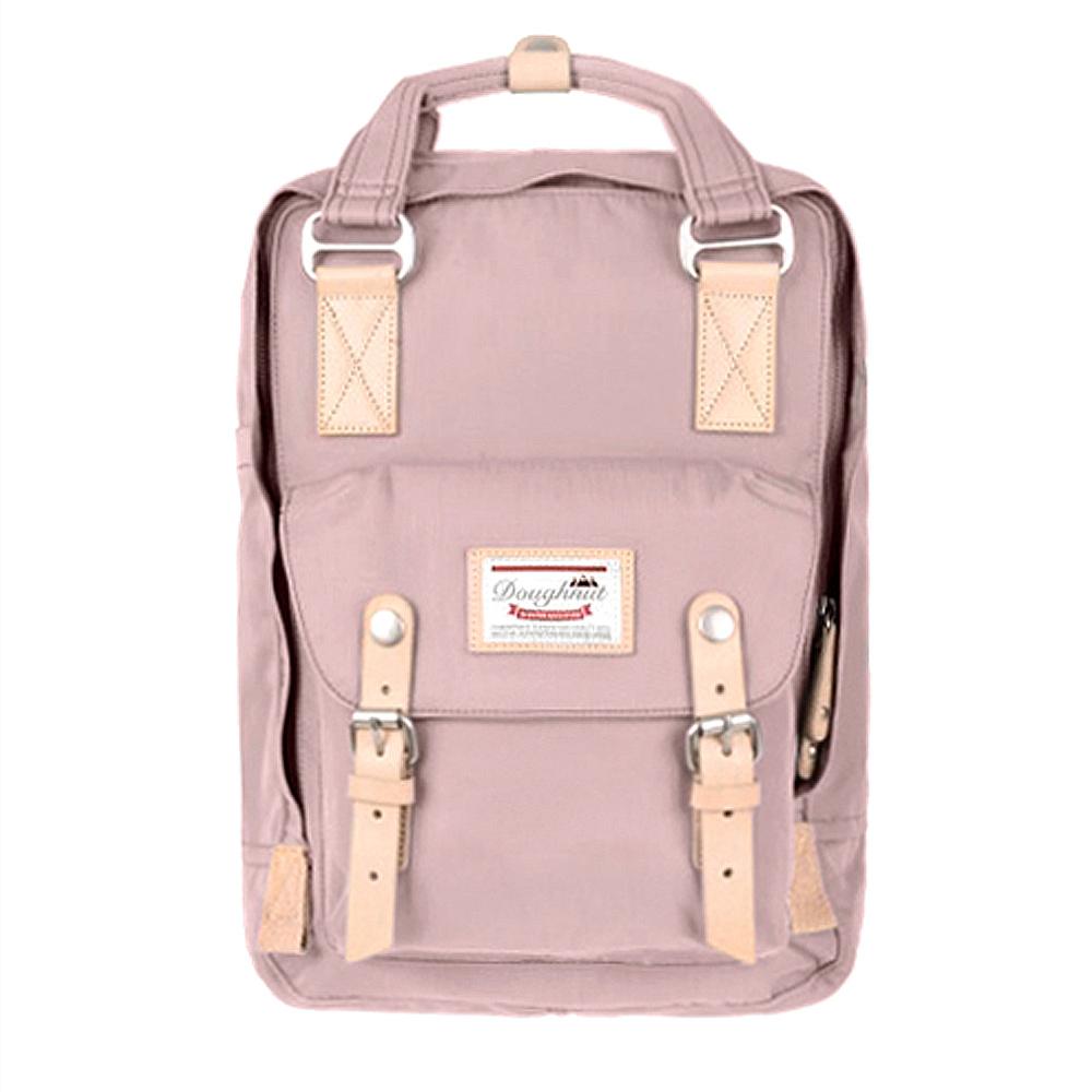 IBAOBAO愛包包|Doughnut 防潑水馬卡龍後背包-紫藕布蕾