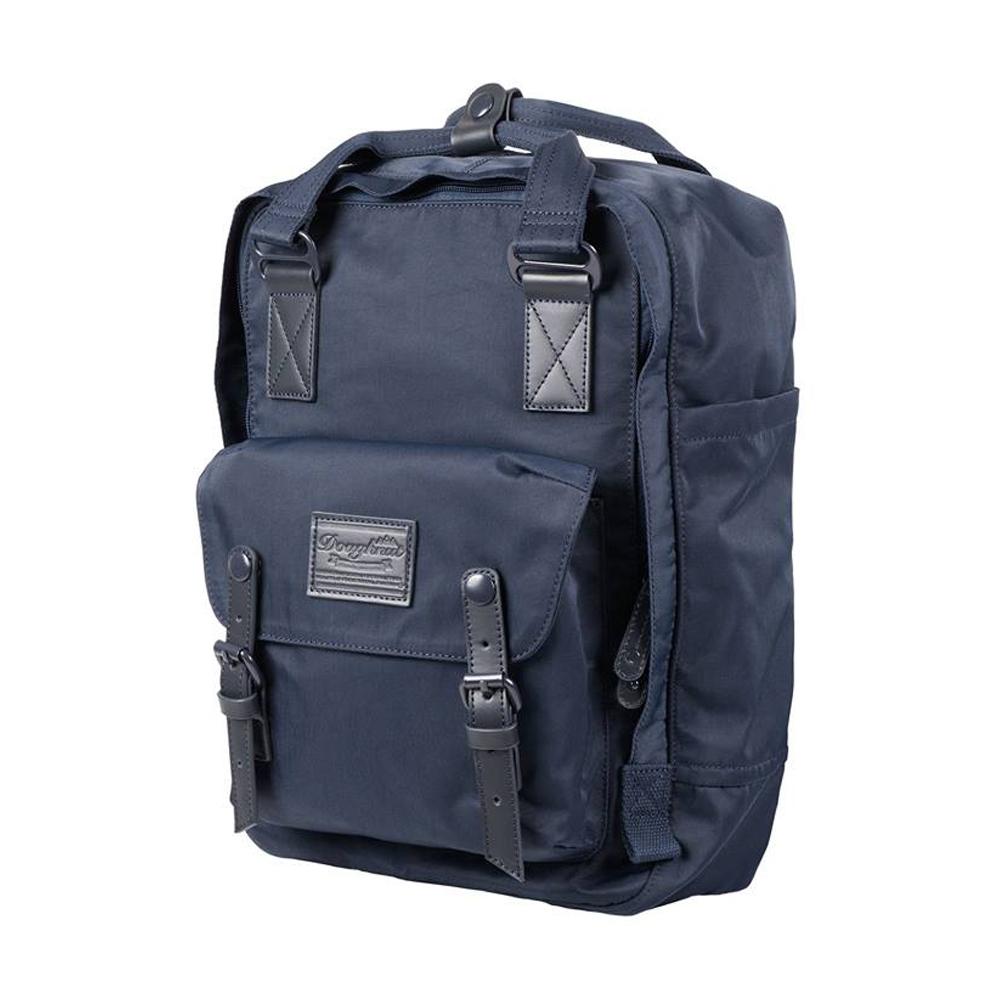IBAOBAO愛包包|Doughnut 防潑水馬卡龍後背包-復刻藍