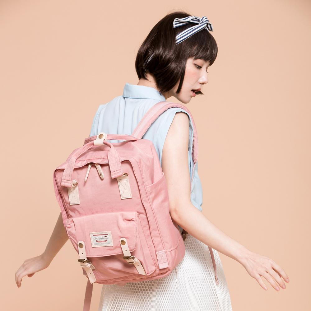 IBAOBAO愛包包|Doughnut 防潑水馬卡龍後背包-玫瑰