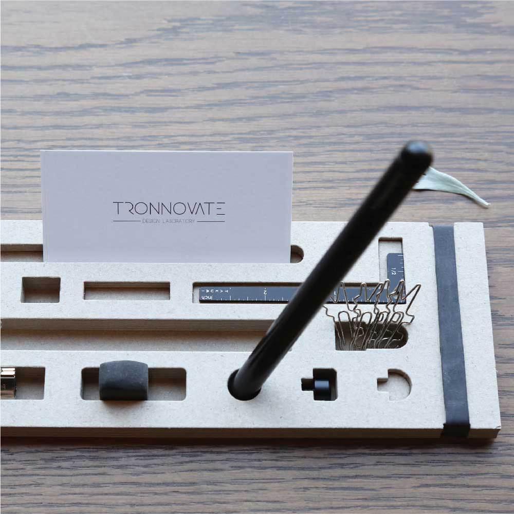 TRONNOVATE|純粹系列 鋼珠原子換芯筆 TAKUMI PURE+ (霧黑)
