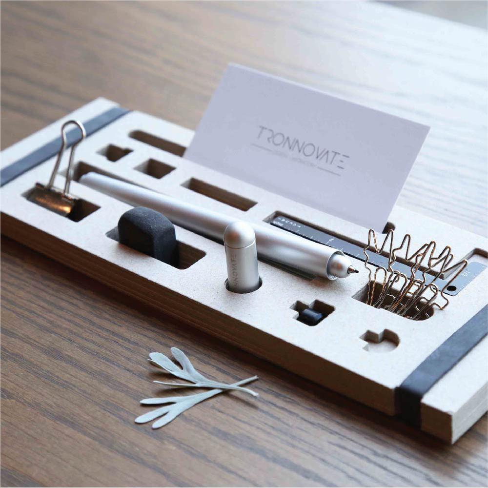 TRONNOVATE 純粹系列 鋼珠原子換芯筆 TAKUMI PURE+ (霧銀)
