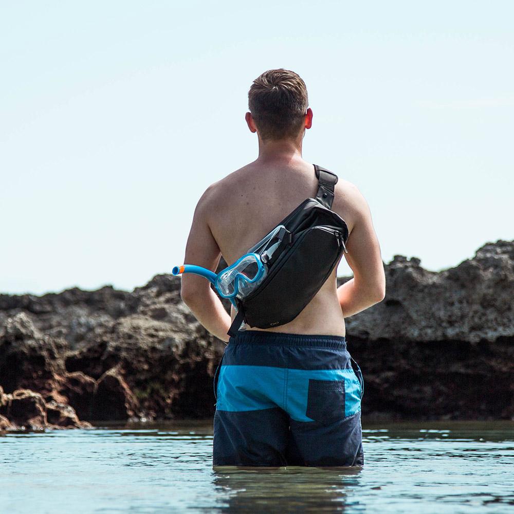 DaySling 2.0|擴充取物快穩準最強單肩包 - 防水版