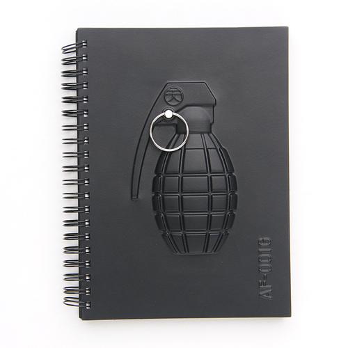 booxi|手榴彈方格筆記本