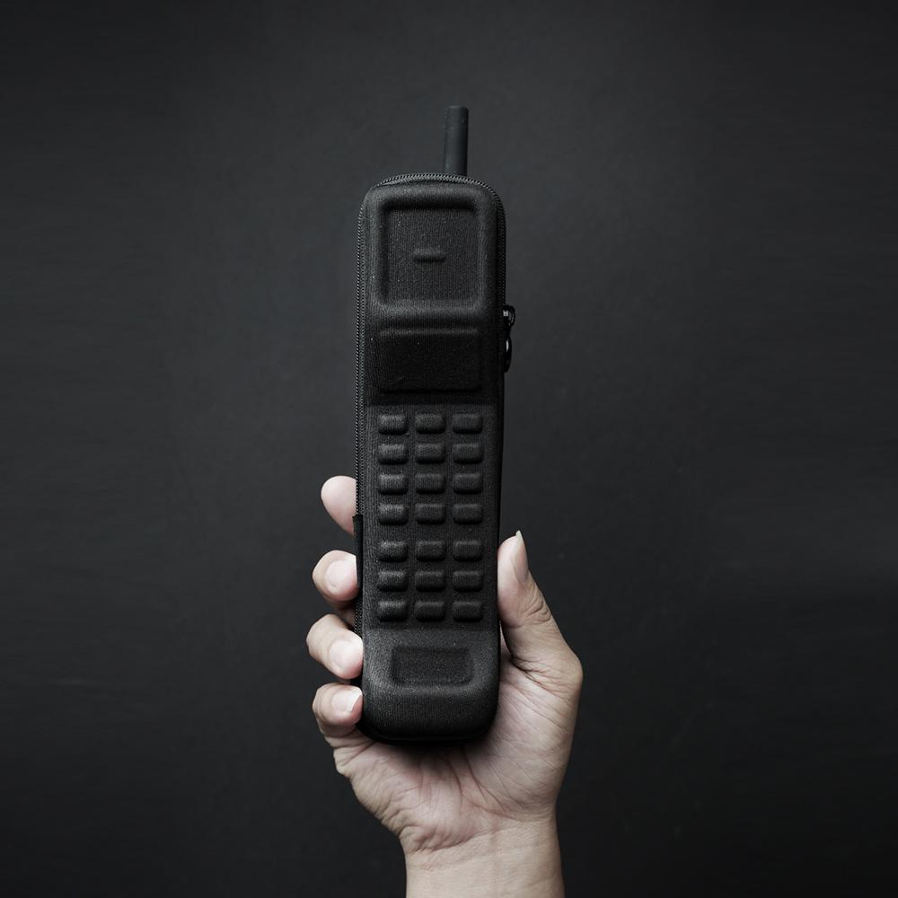 booxi|黑金剛造形收納盒 Brick-Phone Case 1973'