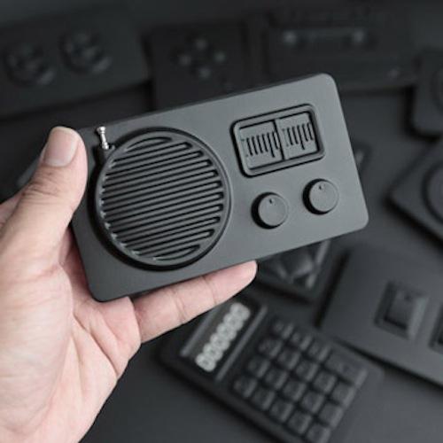 booxi|收音機造型筆記本