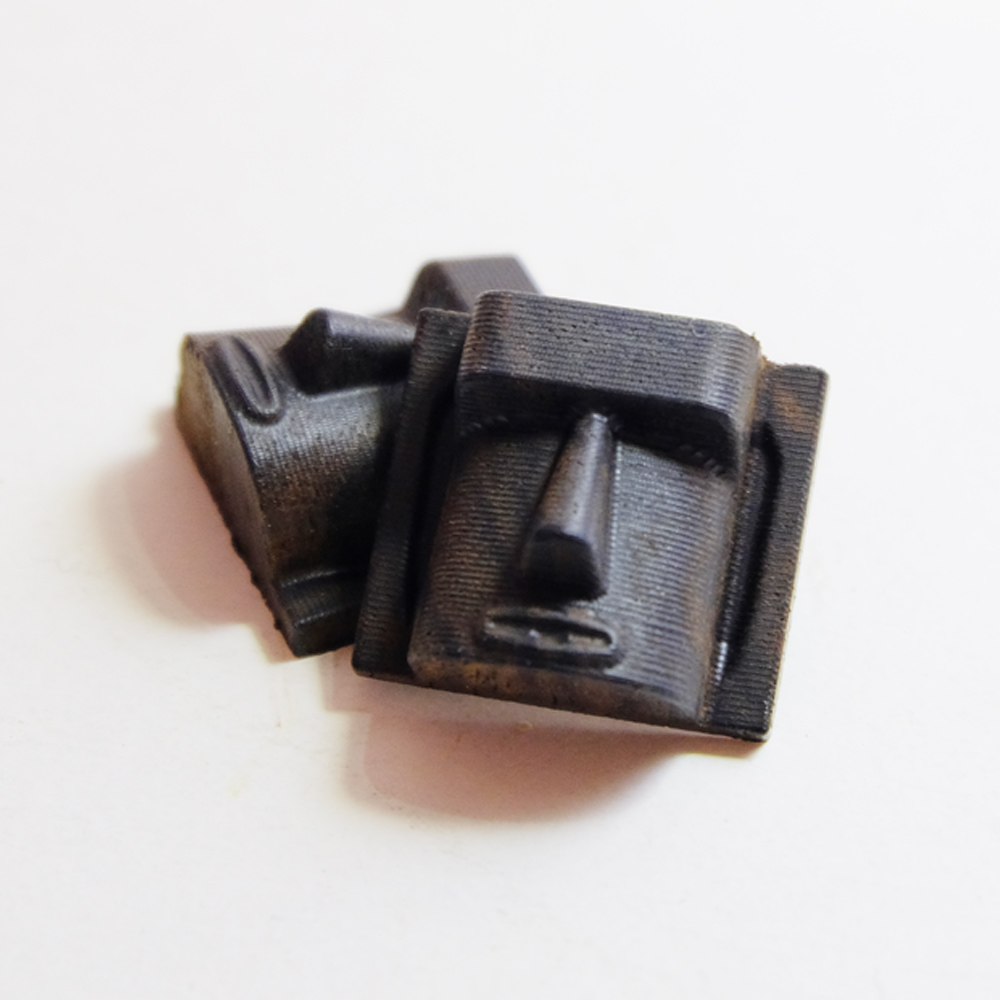Millimeter|相機熱靴 摩艾造型(黑色)