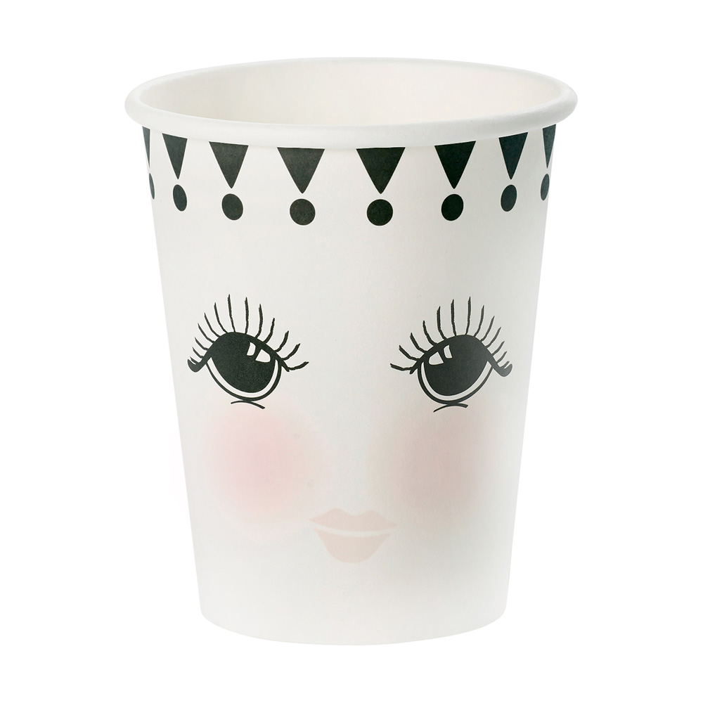 Miss Étoile|極緻黑白 凝望紙杯