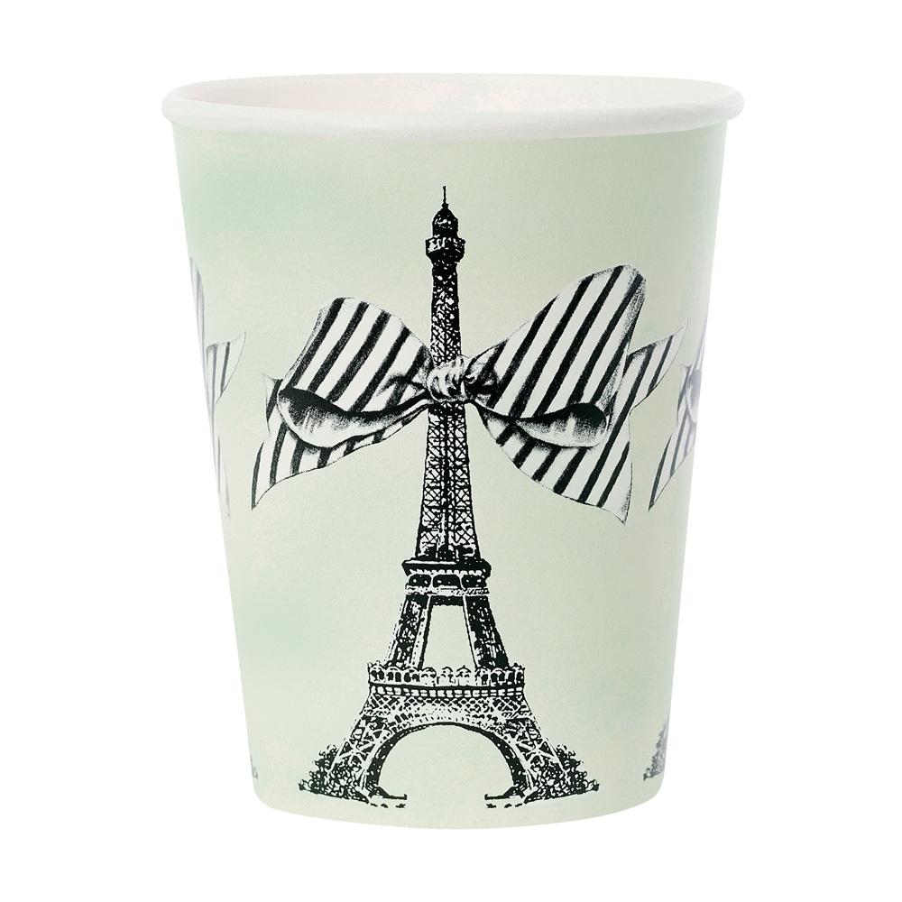 Miss Étoile|經典淡綠 艾菲爾紙杯