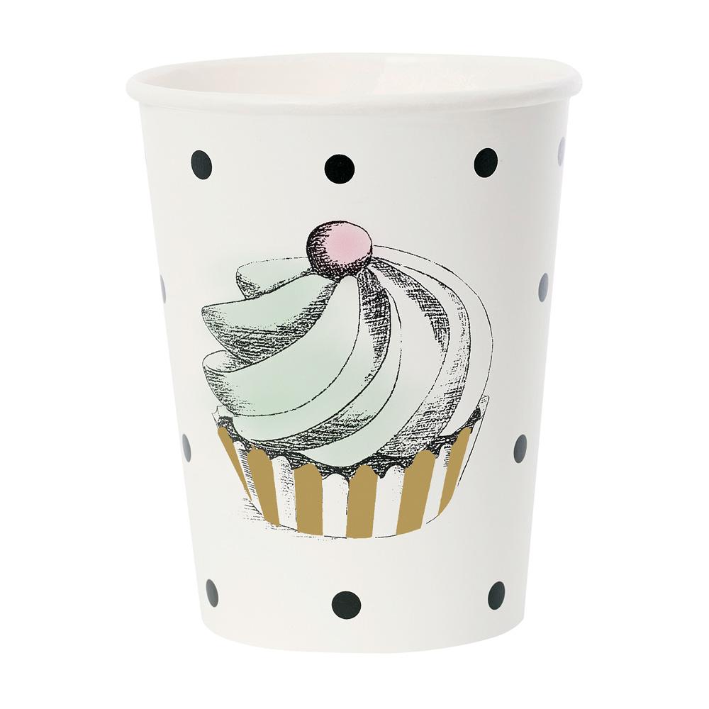 Miss Étoile|黑點蛋糕紙杯