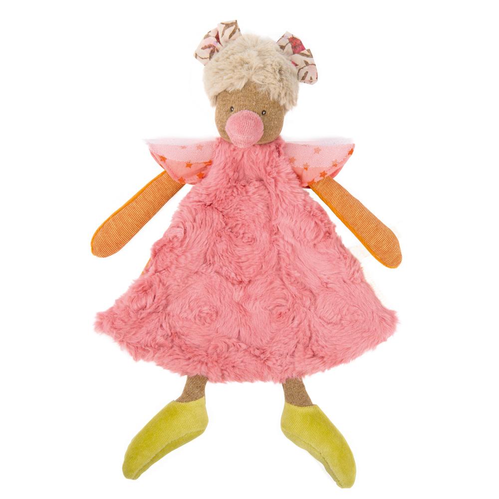 法國 Moulin Roty|Tartempois 粉紅小雞安撫娃娃