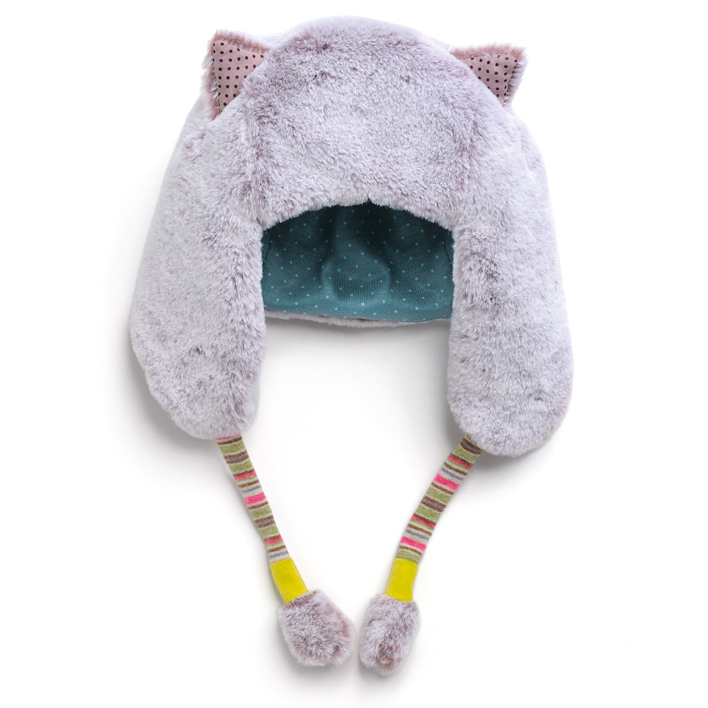 法國 Moulin Roty|帕奇寶寶帽子手套禮盒組 (6-12個月)