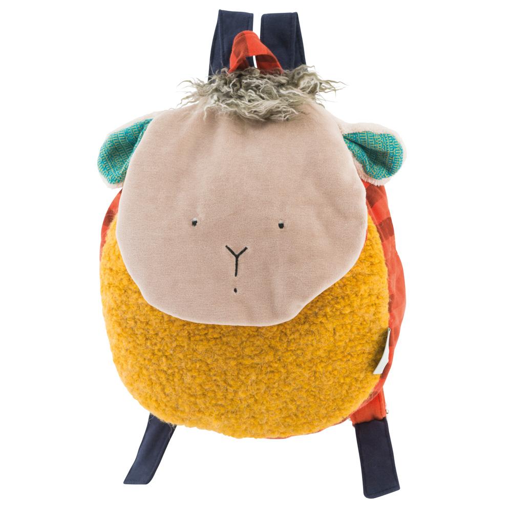 法國 Moulin Roty|齊格羊背包 (H 29 cm)