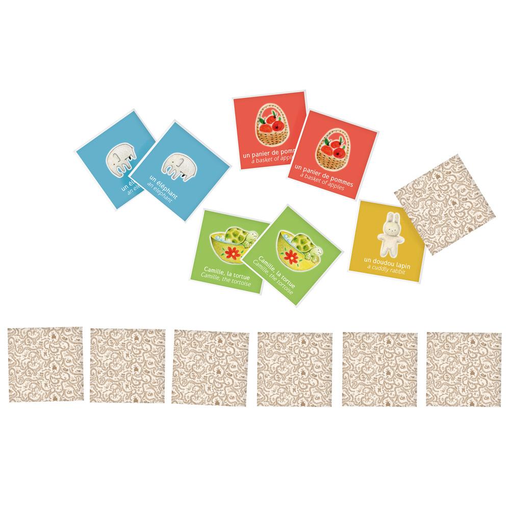 法國 Moulin Roty|歡樂家庭記憶卡遊戲組