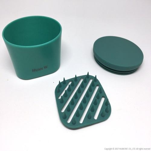 HUAN W.|Soapmate 旅行皂盒-郵差綠