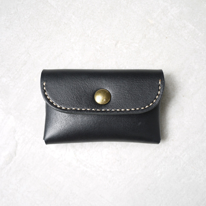 HANDIIN|日系簡約型 牛皮零錢卡片包