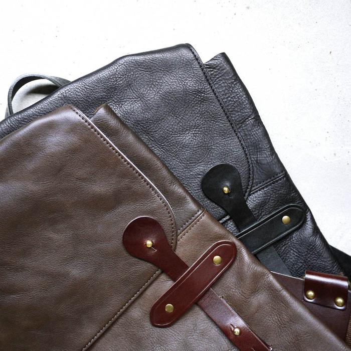 SUOLO|都會旅行‧設計師款個性植鞣牛皮後背包