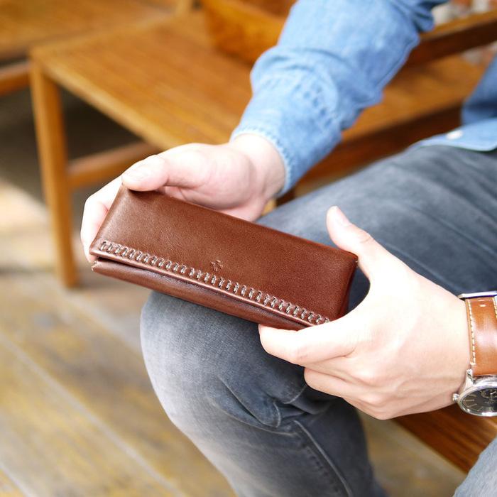 TEHA'AMANA|質感設計 日本職人個性手縫真皮眼鏡盒