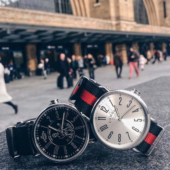Camden Watch|純英國血統 時尚玩色個性尼龍腕錶