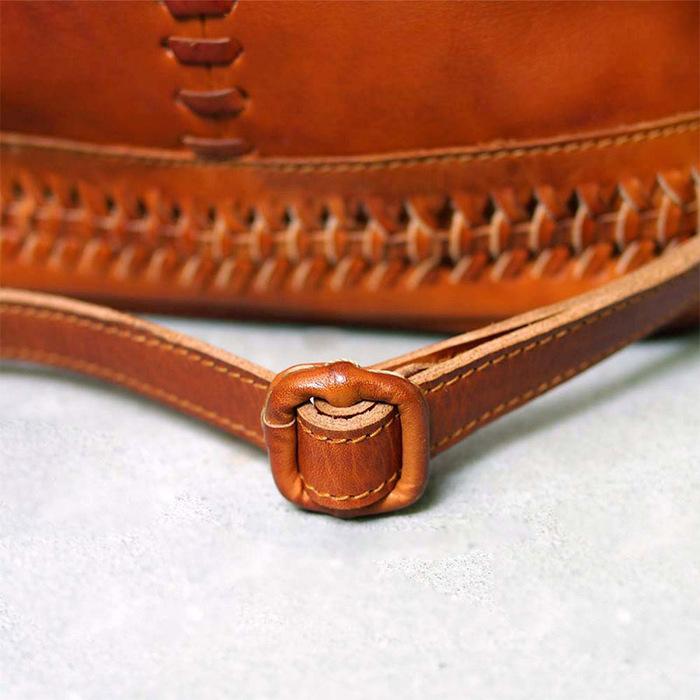 ROBITA|日系職人手工編織韻味熟女系列兩用側背/肩背包款