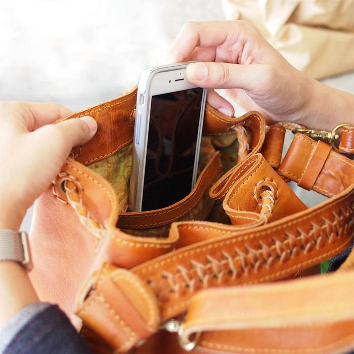 ROBITA 日系職人手工編織韻味熟女系列兩用側背/肩背包款