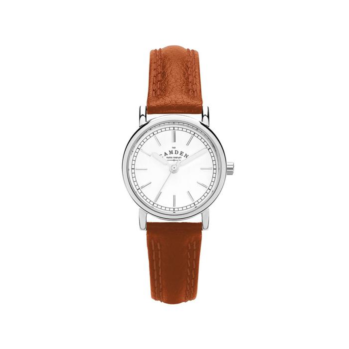 Camden Watch|NO24系列 純英國血統 復古經典,優雅迷人真皮腕錶