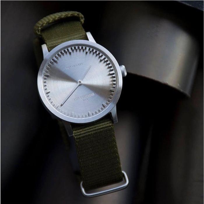 LEFF amsterdam|北歐工業齒輪設計腕錶 (40mm Nato Cordura尼龍錶帶)