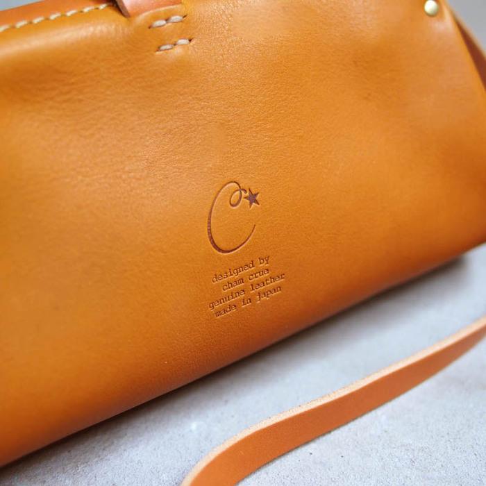 CHAM|日系職人手作 經典質感兩用手拿/側背包