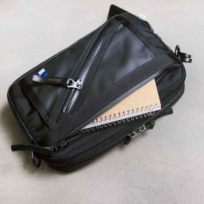 Harvest Label |城市探險 日系彈道尼龍防潑水機能側背包/手拿包