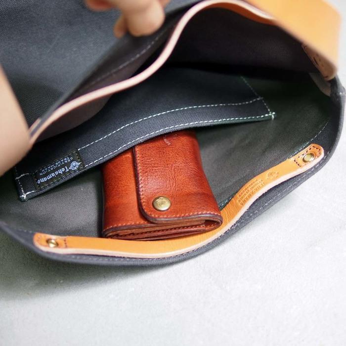 TEHA' AMANA|日本No.8帆布 休閒手提肩側背兩用包