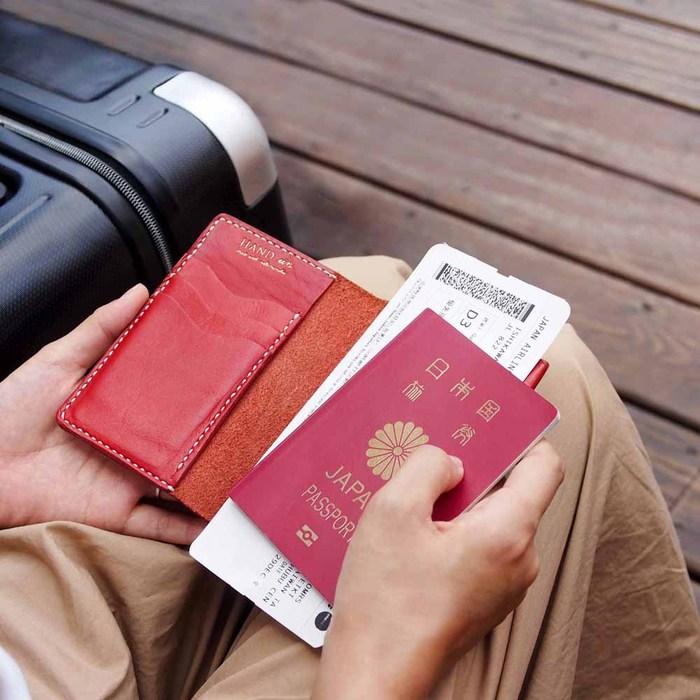 HANDIIN|小旅行  經典手縫多層卡片夾/護照夾