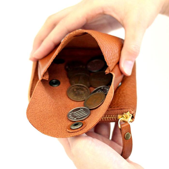 CLEDRAN| 日系時尚 可拆式質感兩用皮革短夾/零錢包